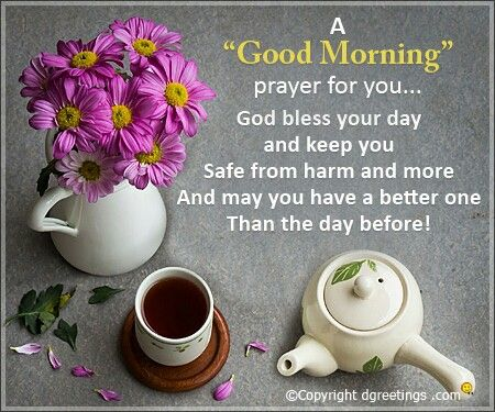 Good Morning Prayers With Wishes