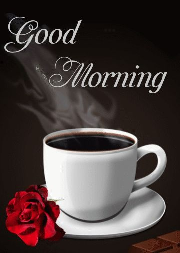 Good Morning Wishes With Coffee