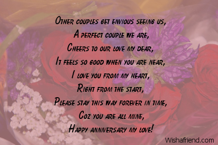 Greetings For Wedding Anniversary For Couple
