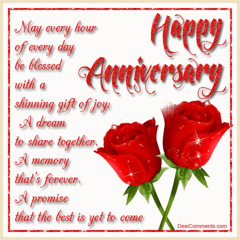 Happy Anniversary Blessings For A Couple With Love And ...