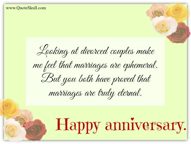 Happy Anniversary Blessings with Truly External Love