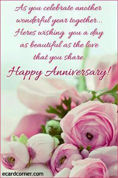 Happy Anniversary Greetings With Love