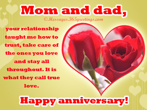 wedding anniversary my parent If you are lucky enough to be able to celebrate your parents' 50th wedding anniversary you should do your best to make it special and show your parents how much you appreciate and admire them.