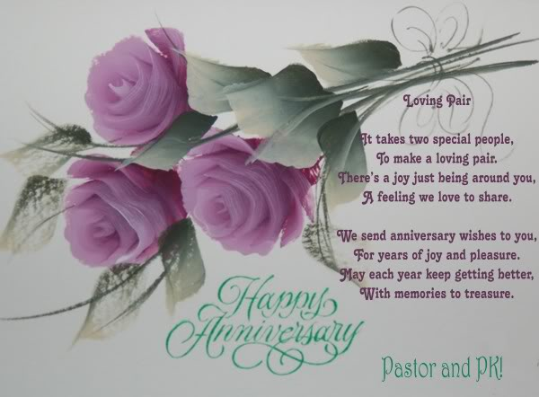 Wedding Anniversary Greetings For Pastor And Wife Best