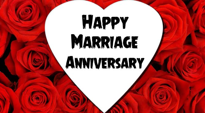 Happy Anniversary Wishes For GF With Lots Of Roses