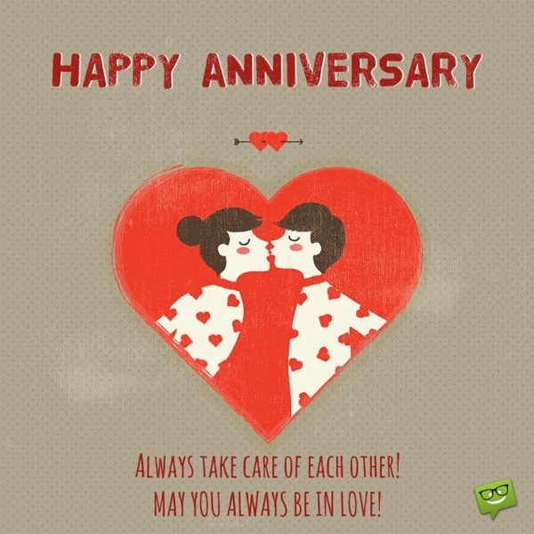 Happy Anniversary Wishes To Our Friends
