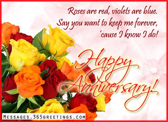 Happy Anniversary Wishes With Flowers