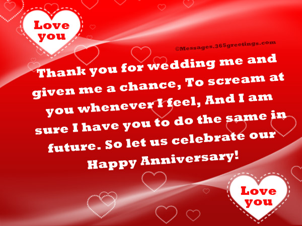 Happy Anniversary Wishes With Love