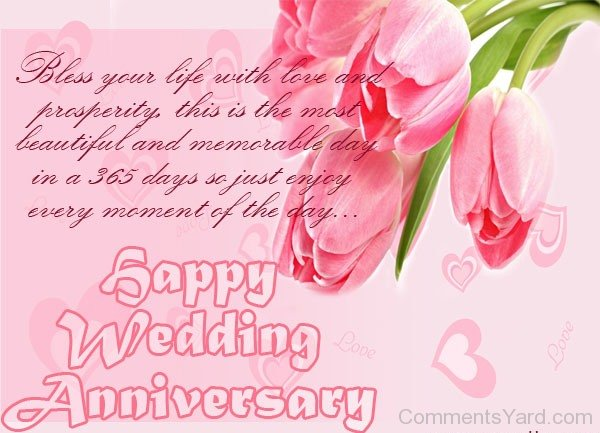 Happy-Wedding-Anniversary-Bless-Your-Life