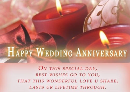 Happy Wedding Anniversary Wishes For Special Day