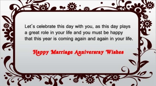 Happy Wedding Anniversary Wishes With Love