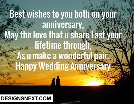 Happy Wedding Anniversary With Best Wishes