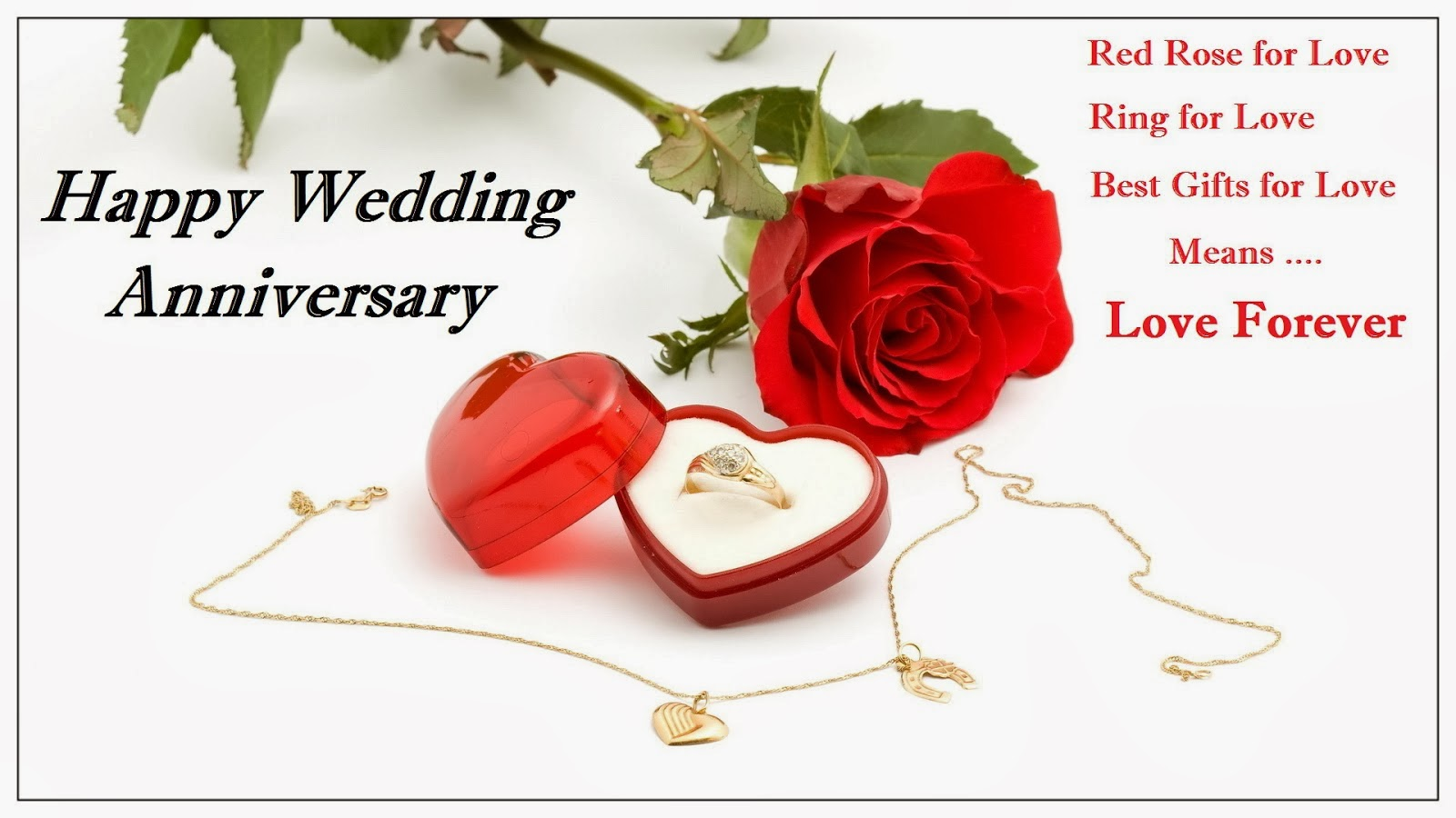 Wedding Anniversary Sayings For Husband With Rose Nicewishes
