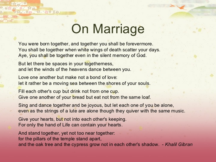 Marriage Anniversary Poems For Greetings