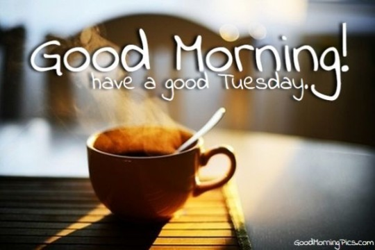 Morning Wishes For A Great Tuesday