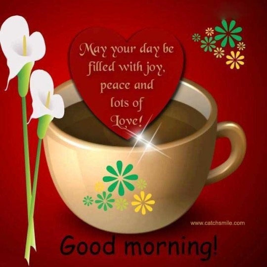 Morning  Wishes With Love And Joy