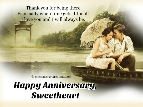 Wedding Annigersary Greeting Card Picture For Sweetheart