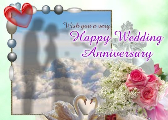 Wedding Anniversary Greeting Card Wishes