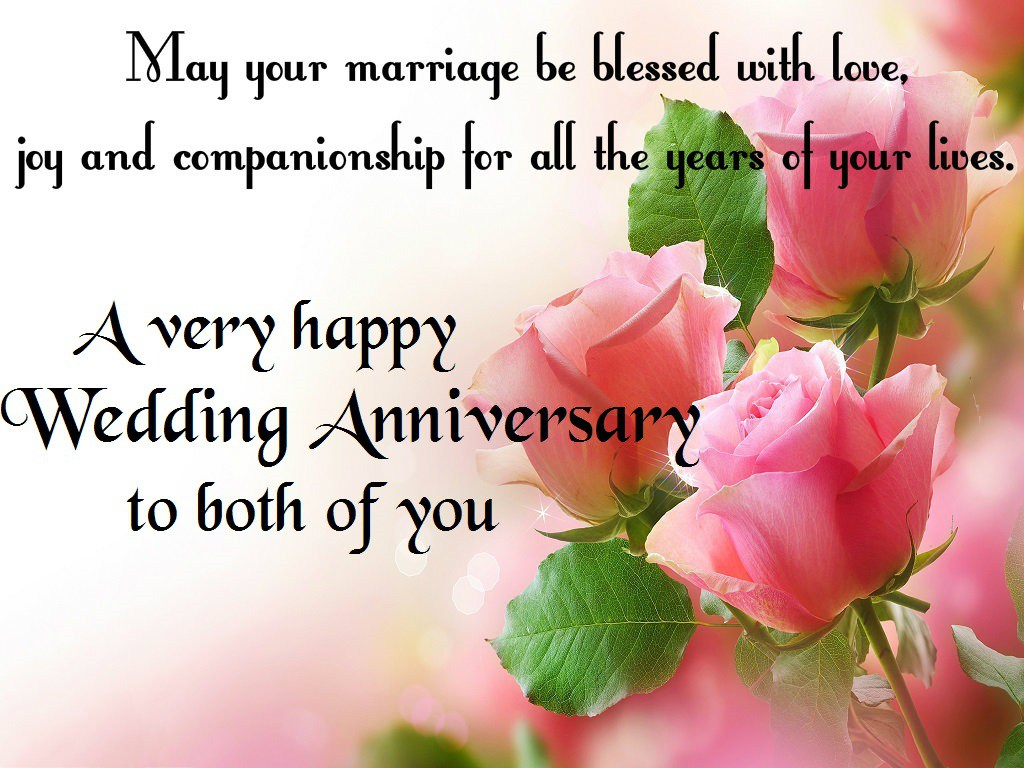 Wedding Anniversary Wishes With Love And joy