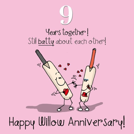 Willow Anniversary Wishes For Togetherness