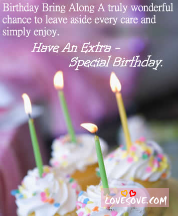 Wonderful B'day Image With Extra Love