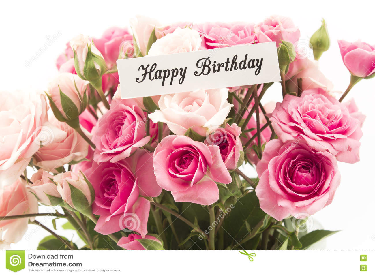 Happy Birthday Greetings With Flowers Nicewishes