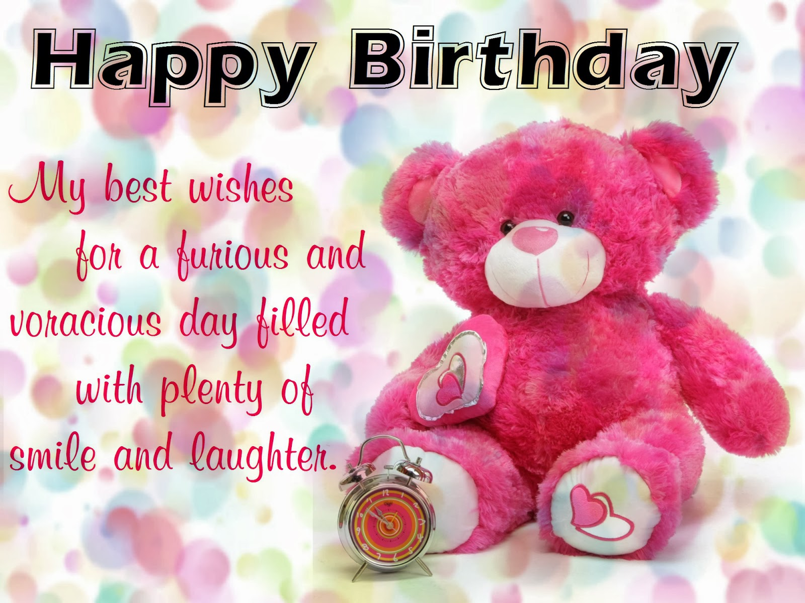 Happy Birthday Wishes With Quotes NiceWishes