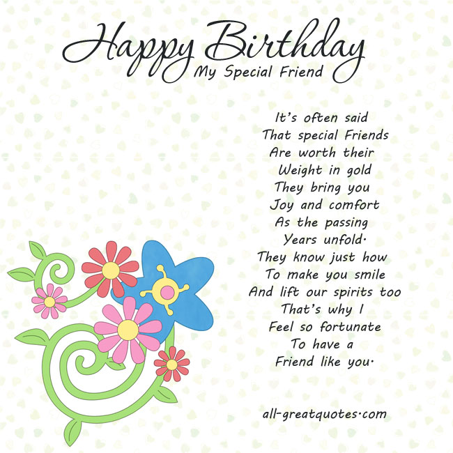 Happy bday wishes for special friend nicewishes birthdaywishes 26 more birthday wishes m4hsunfo