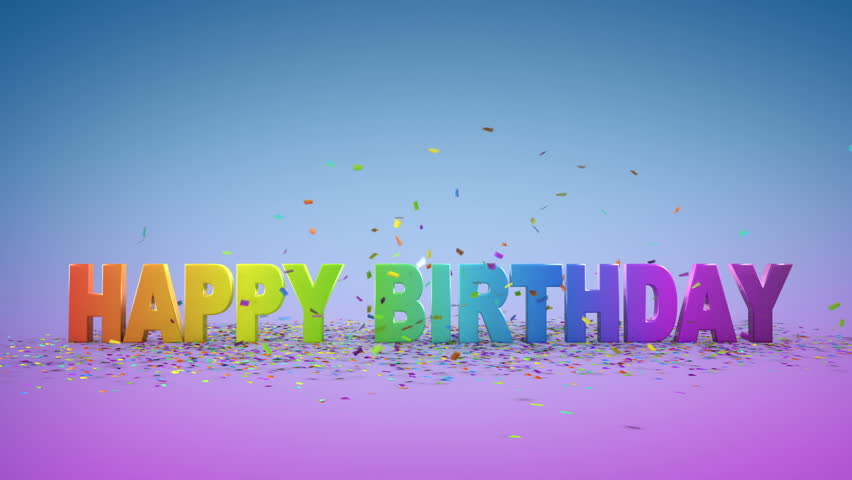 Happy Birthday Animated Videos Download