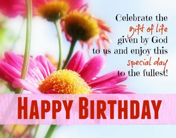 Happy Bday Wishes With Message NiceWishes – Birthday Greetings to