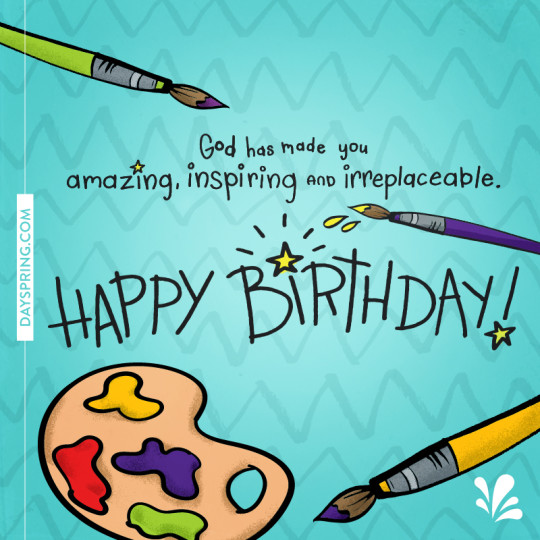 Amazing Painting Birthday E-Card