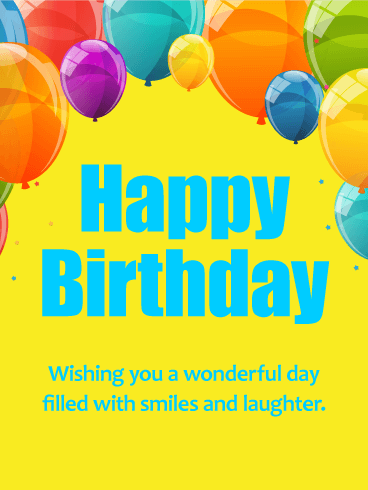 Astounding Birthday E-Card With Best Wishes