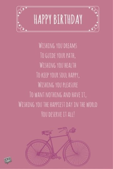Astounding Birthday Poem With Marvelous Wishes For You