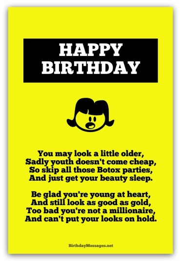 Awesome Birthday Poem With Good Fortune And Happiness