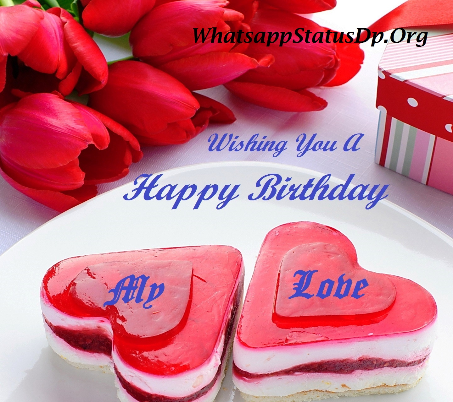Lovely birthday greetings for romantic person nicewishes beautiful heart combination picture more birthday greetings kristyandbryce Choice Image