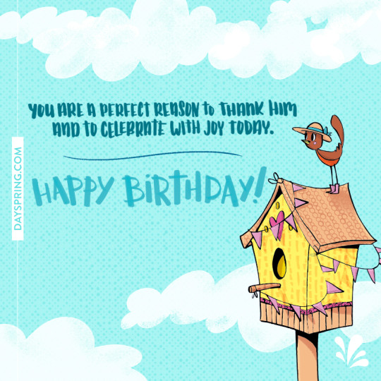 Birthday E-Card For A Great Day