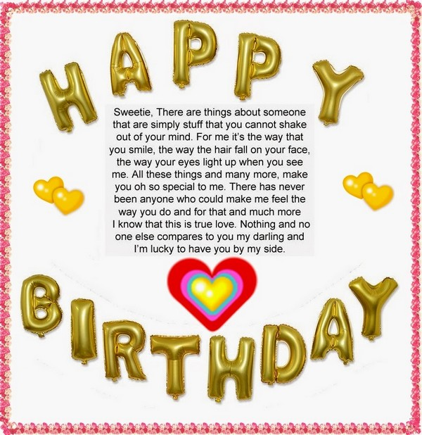 Fabulous Birthday Poem With Feeling Of Happiness Nice Wishes