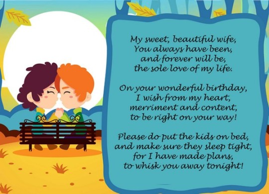 Captivating Birthday Poem With Best Wishes