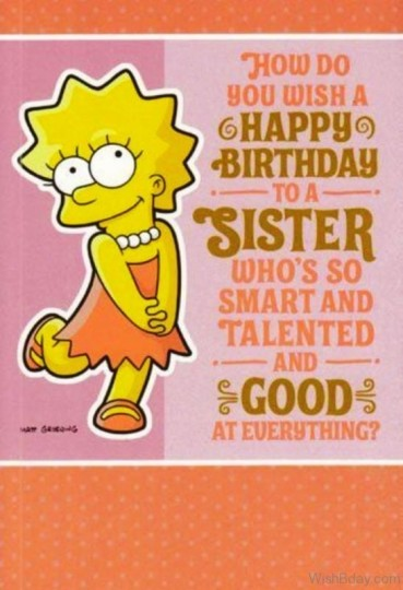 Captivating Birthday Wishes With Greetings For My Sister