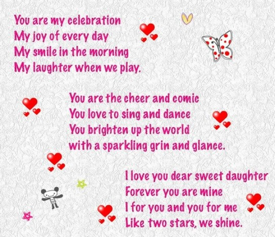 Celebration Birthday Poem With Smile And Cheer