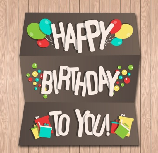 Charming Birthday Greeting Card