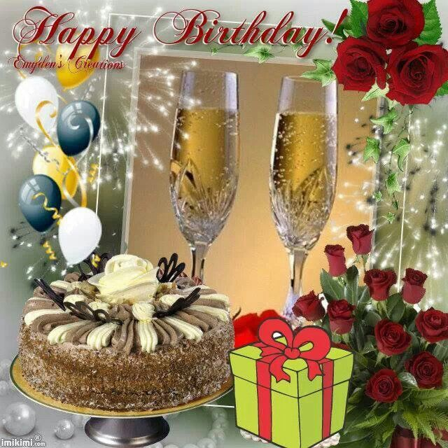 Cheerful Birthday Toasts With Sweet Cake For Lovely Person Nice Wishes