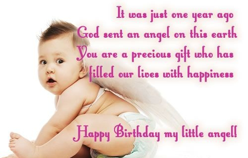 Delightful Birthday Wishes With Precious Message For My Little Child