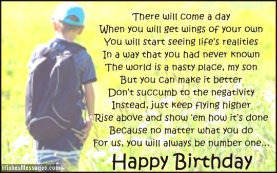 Excellent Birthday Poem With Greetings For A Great Day