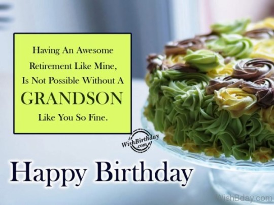 Fabulous Birthday-9 Wishes For My Grandson