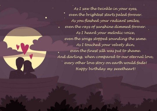 Fabulous Birthday Wishes With Best Poem