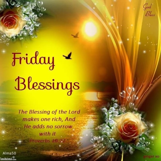 Friday Blessings For Good Morning Nice Wishes