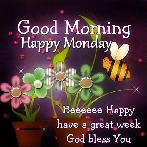 Good Morning Greetings For Happy Monday