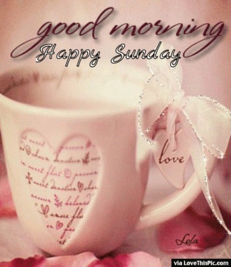 Good Morning Quotes And Wishes With Love For Sunday Morning