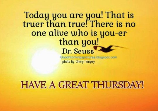 Good Morning Wishes And Greetings For Great Thursday